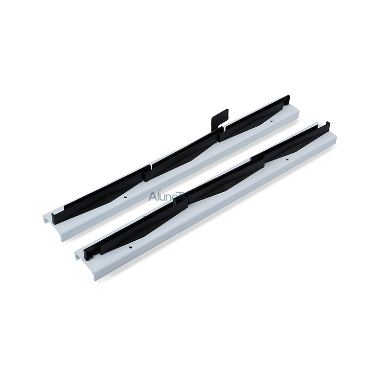 PVC Louvre Window Frames with Glass-Blade-Holders