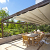 Retractable Awning PVC Pergola Roof Cover