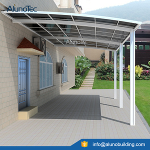 Outdoor Aluminum Carport Covers Polycarbonate Roofing Carports sheet