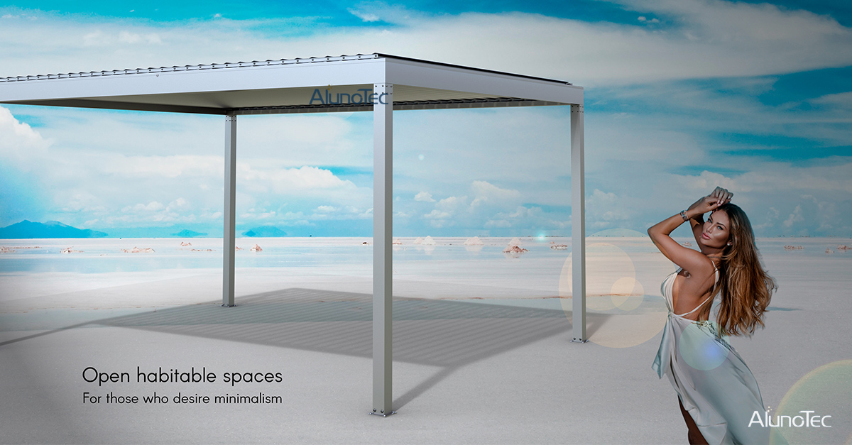 AlunoTec pergola expand your living space and extend your outdoor season