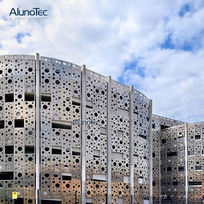 Unique Design Cnc Carving Aluminium Cladding Panels Use