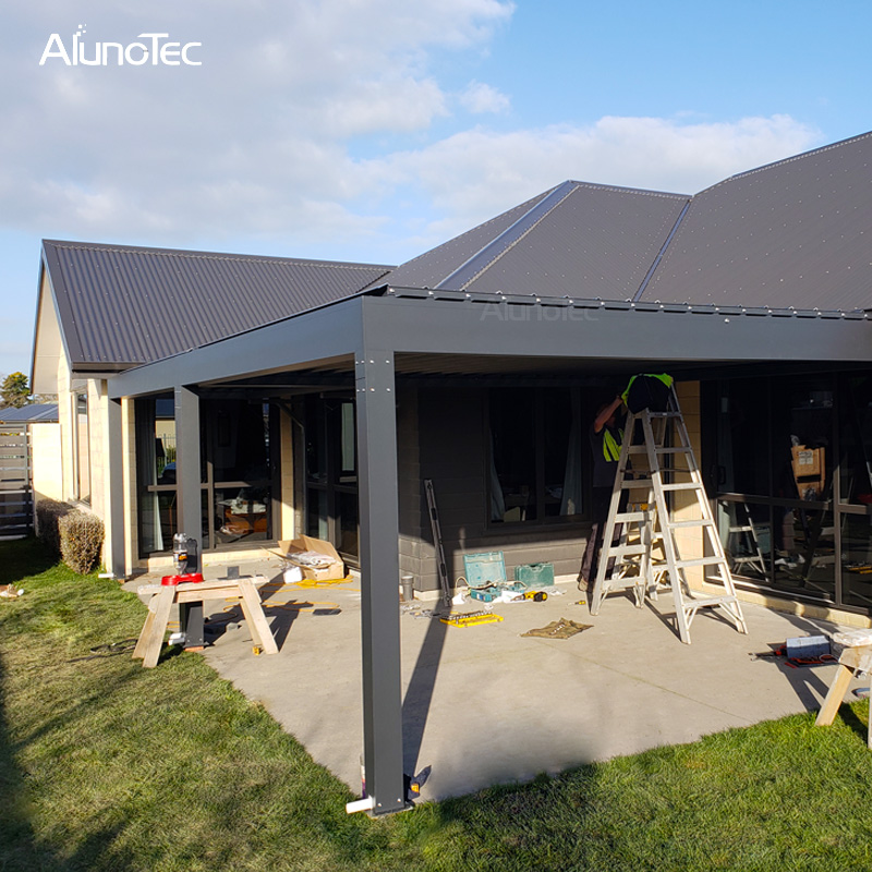 Self-supporting Waterproof Adjustable Pergola Electric Pergola Awning