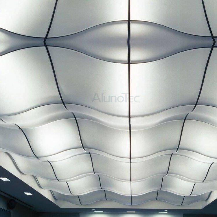 Heat Resistant Aluminium Perforated Suspended Ceiling Panel Board