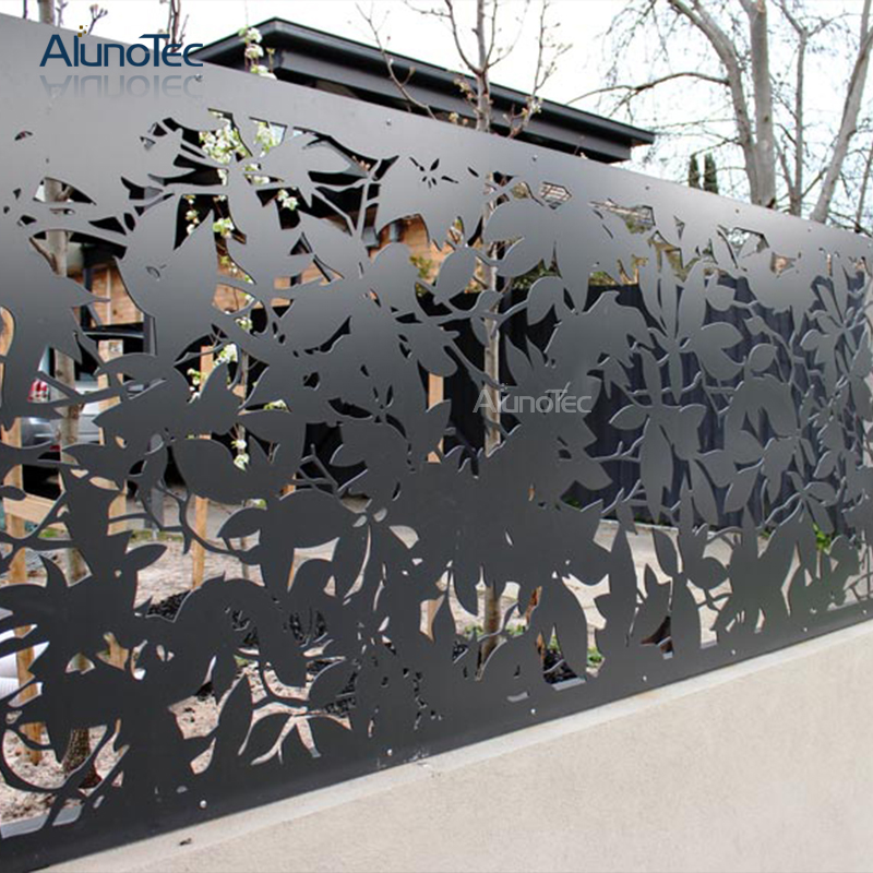 Alunotec Pvdf Coated Aluminium Privacy Screen Used in Outdoor