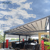High Quality Outdoor Metal Retractable Pergola For Car Shading