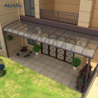 Unique Design Sun Shade Standard Garden Aluminium Patio Awnings