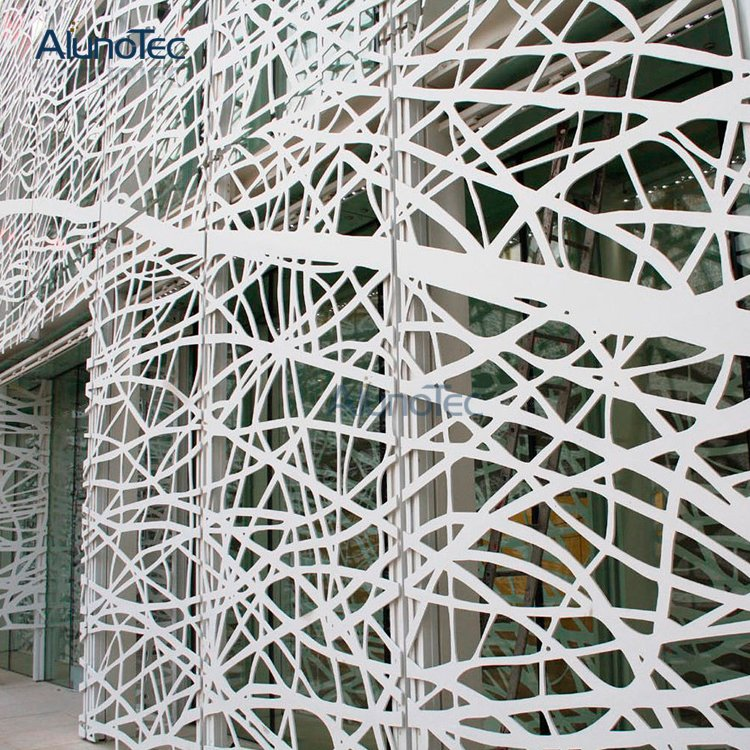 Exterior Decorative Aluminum Carved Wall Cladding Facade Panel