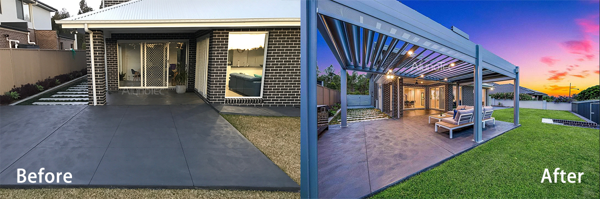 Attractive Pergola Project Case from Australia