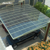 Customized Twin-wall Polycarbonate Roof Aluminium Sunshading Carport for Sale