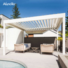 Opening Louvered Roof System Pergola With Electric System