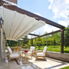 Waterproof Gazebo Modern Retractable Awnings For Restaurant Shading
