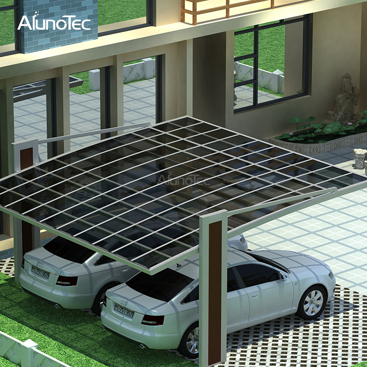 Best Selling Polycarbonate Sheet Solar Carport Prices For Car Parking