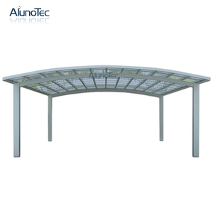 Aluminium Sunshading Carport for Park High Grade Easy DIY Elegant Carport