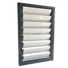 Economic Wood Grain Aluminum Louver Window for House