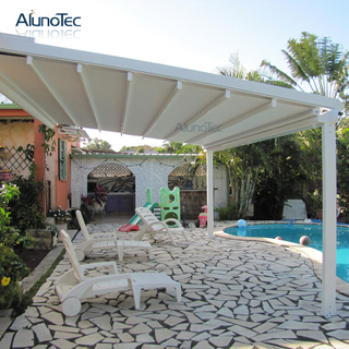Electric Tent Adjustable Pergola Waterproof Awning Outdoor With Remote Control System
