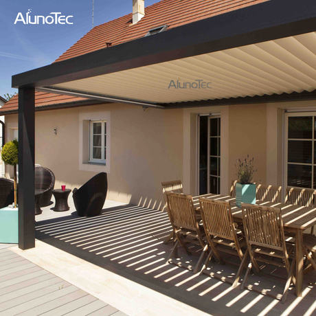 Outdoor Metal Aluminium Pergolas For Patio Louvered Roof Pergola Kits Pergola Roof System