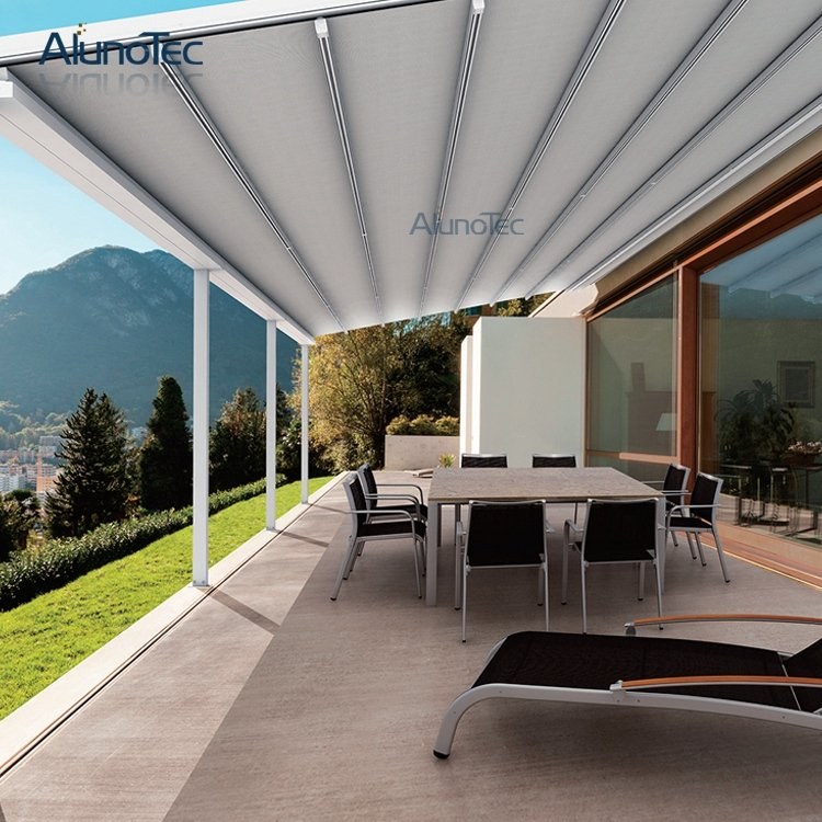 Retractable PVC Pergola Systems