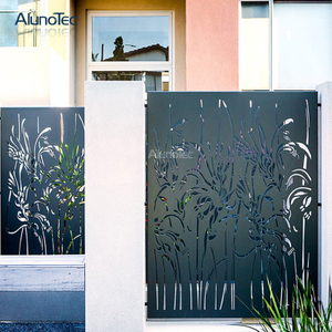 2019 Most Popular Aluminium Privacy Screen For Garden