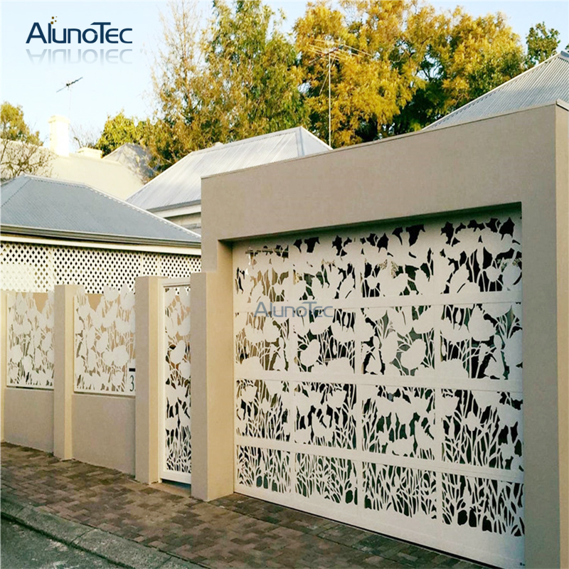 New Design Hollow Out Aluminum Privacy Screen Use For