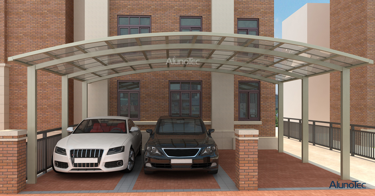 Large M Type Carport
