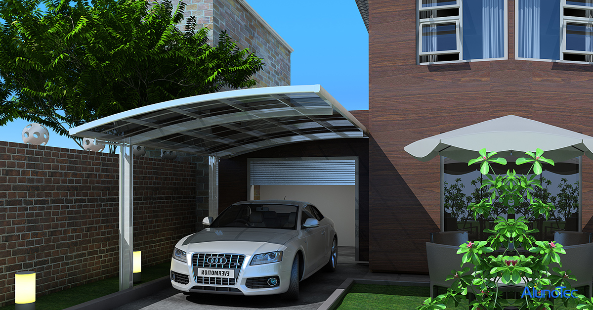 Sunshade Aluminum Carport