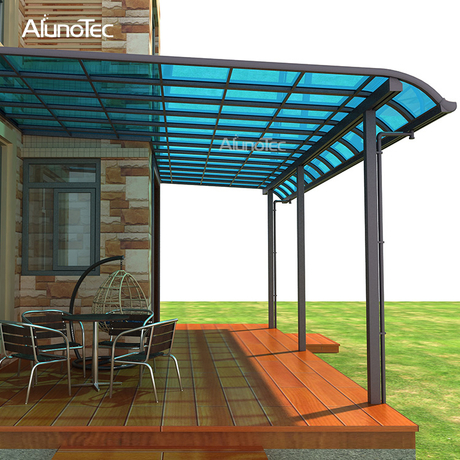 Best Selling High Snow Load Polycarbonate Patio Roof Awnings