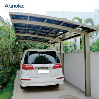 Outdoor Polycarbonate Aluminum M Style Carport for Car Garage