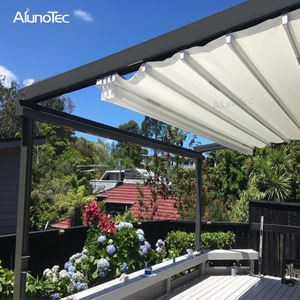 Modern Gazebo Design Adjustable Pergola Canopy Awning For Garden