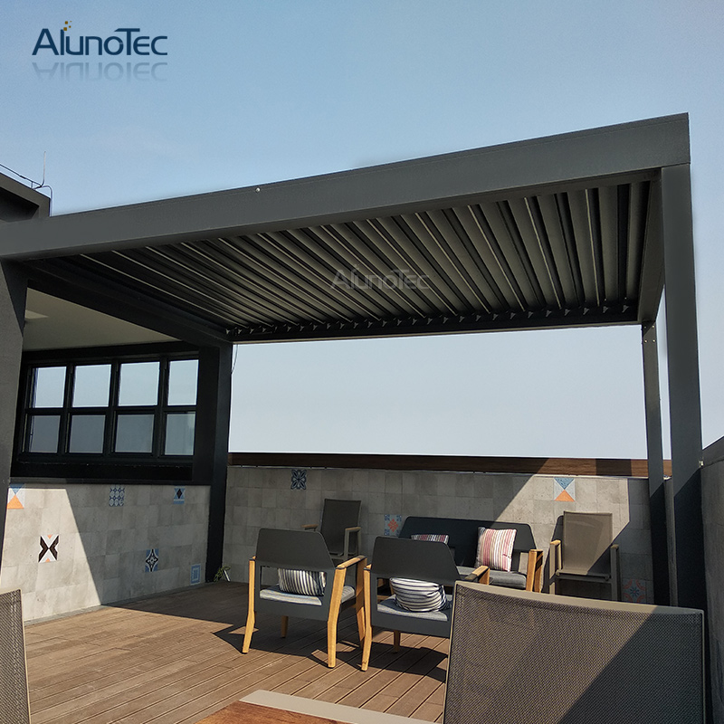 Waterproof Aluminum Outdoor Controlled Pergola