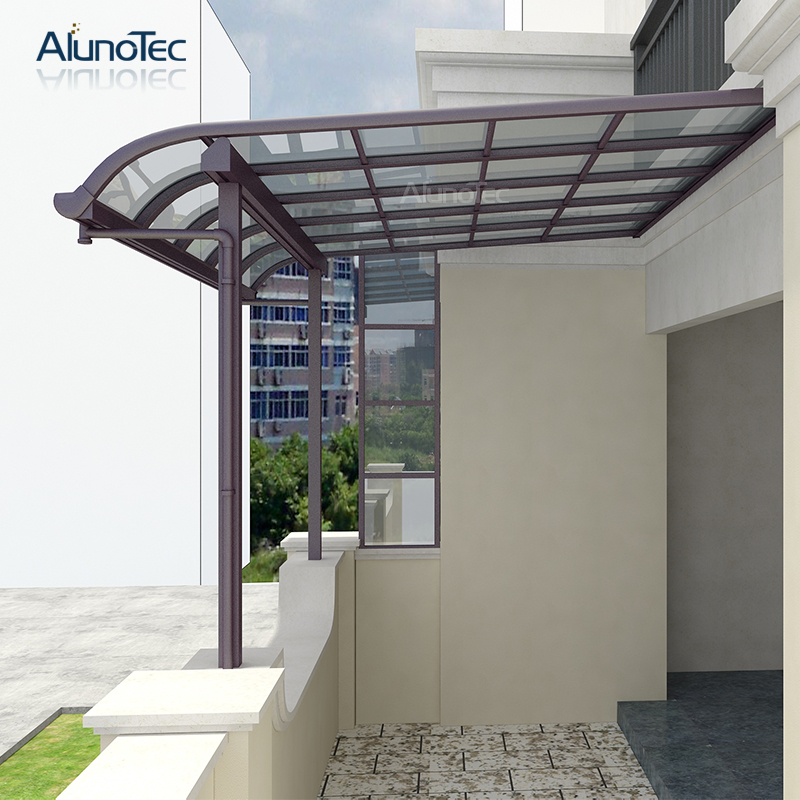 2019 Hot Sale Sun Shade Polycarbonate Front Door Canopy