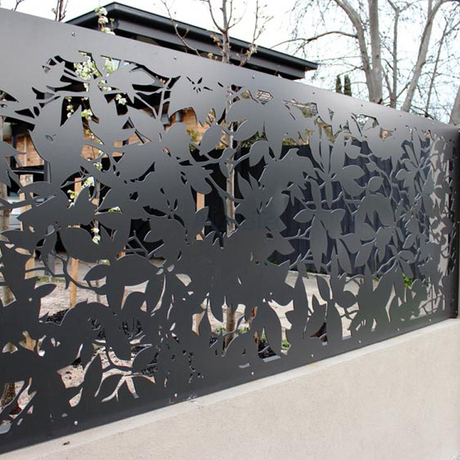 China Exterior Decorative Aluminum Screen Pattern Panel For Buildings