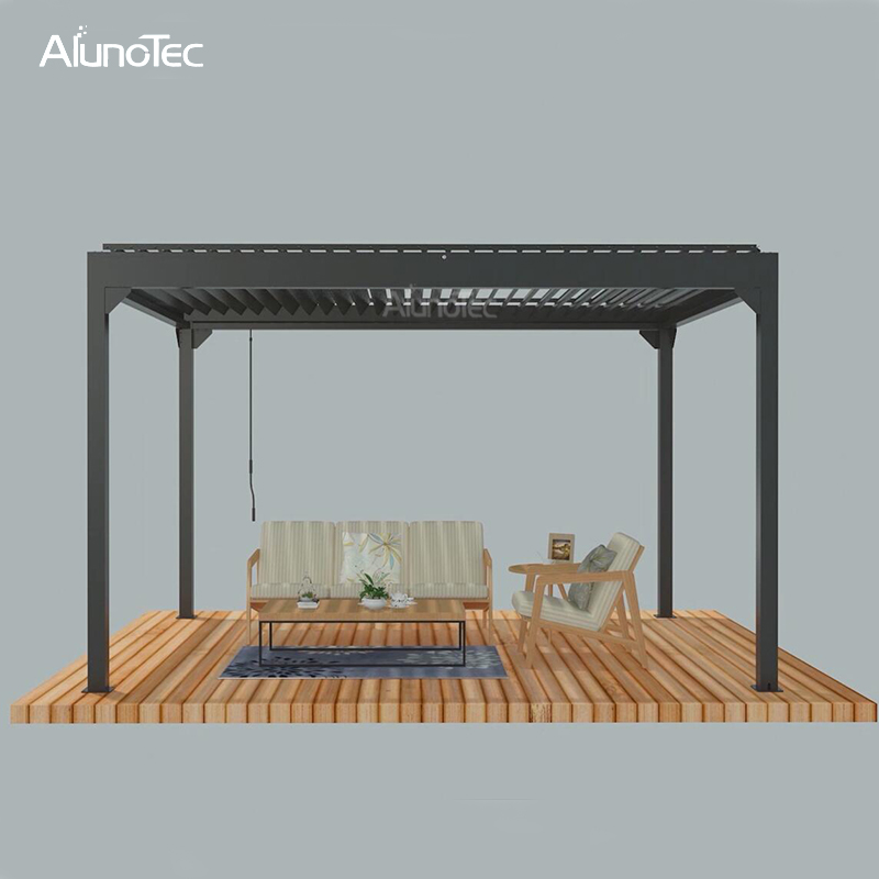 Wholesale Pergola with Manual Operating Way