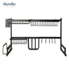 Space Saver 65cm Strong Black Drainer Dish Holder Kitchen Sink Drying Rack