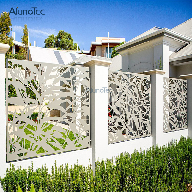 High Quality Cnc Carving Outdoor Garden Fence For Decoration