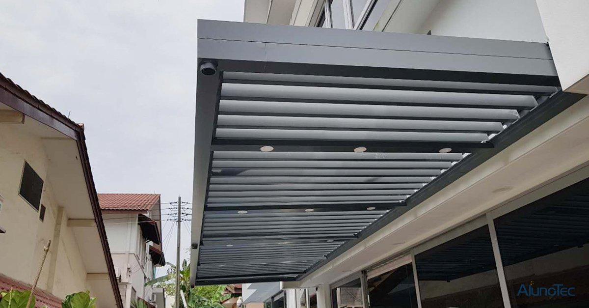 Aluminum Pergola Project Case from Singapore!