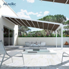 Chinese Supply Outdoor Patio Roof Retractable Canopy Awning System