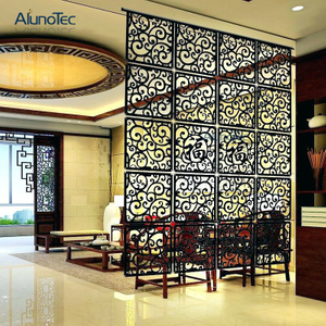 High Quality Aluminum Art Panel Indoor Decorative Partition