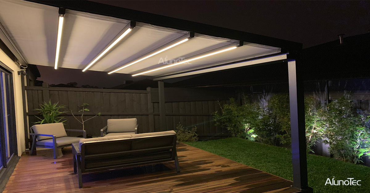 Retractable Roof For Deck