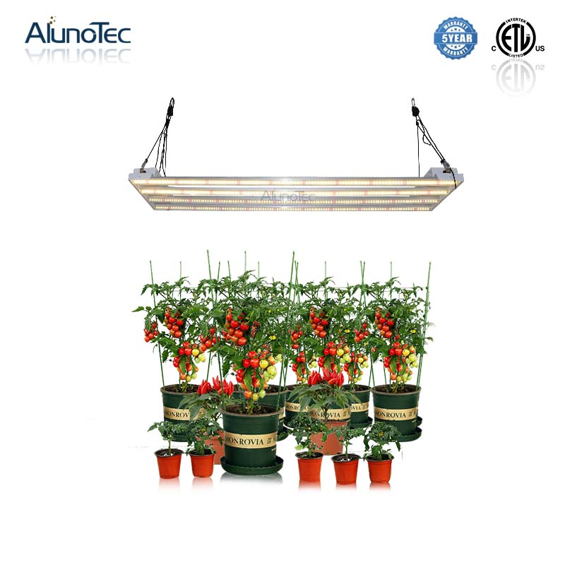 400W Greenhouse High PPFD Value Full Spectrum LED Plant Grow Light without Dimming