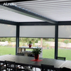 Aluminum Waterproof Awning Adjustable Garden Pergola with Retractable Canopy Shades
