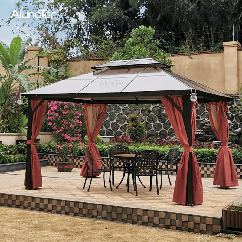 Polycarbonate Outdoor Patio Garden, Outdoor Patio Gazebo Canopy