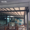 Outdoor Motorized Electric Retractable Canopy Aluminum Pergola Roof Awning With Side Screen
