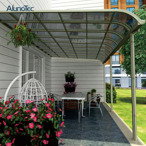Outdoor Aluminum Frame Garden Polycarbonate Roof Cover Canopy