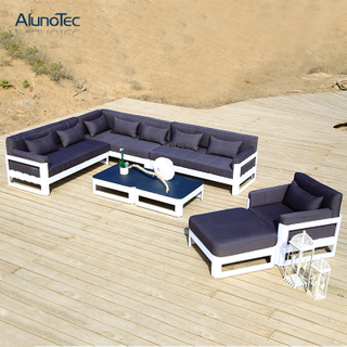 Nordic Style Garden Home Sofa Set Living Room Furniture