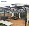 Waterproof Polycarbonate Rain Shed Awning with UV Treated for Balcony
