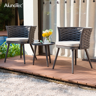 Extruded Aluminium Outdoor Patio Furniture Garden Sofa Sets With Table And Chairs