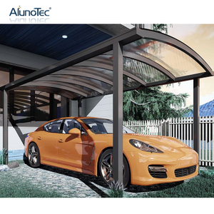 Outdoor Bending Polycarbonate Roof Patio Covers Awning Aluminum Curved Carport