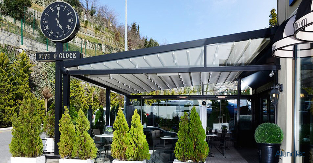 The Best Garden Partner - Retractable Awning Roof