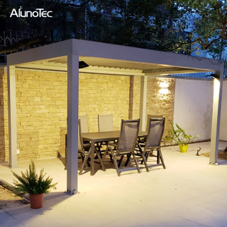 Louvered Pergola Roof Kits