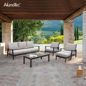 Outdoor Garden Leisure Patio Furniture Sectional Upholstery Sofa Sets